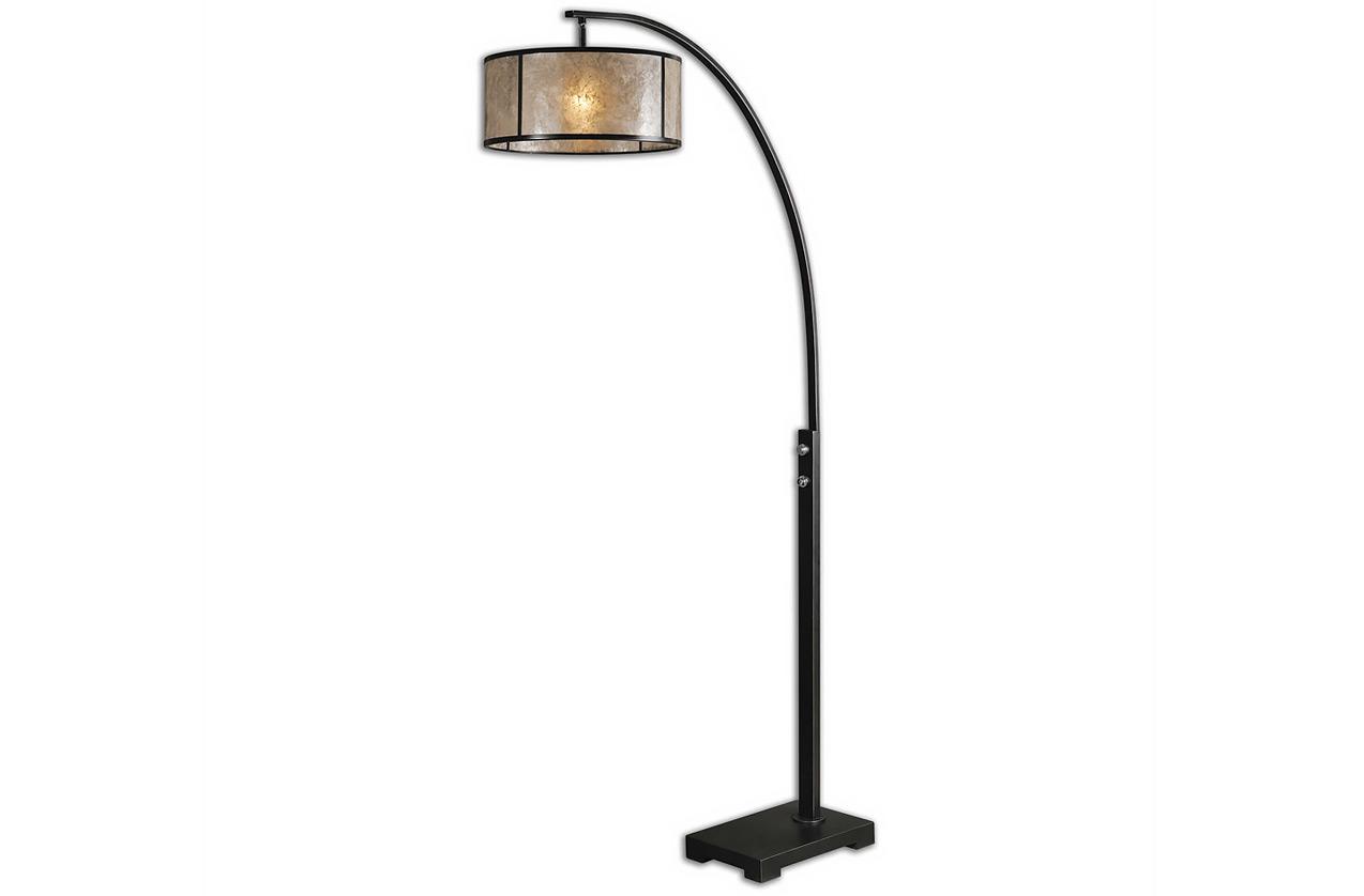 The mica arc floor lamp portland furniture the mica arc floor lamp aloadofball Images